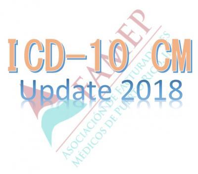 ICD-10 CM - UPDATE 2018 - ¡Ponte al día con la Codificación ...